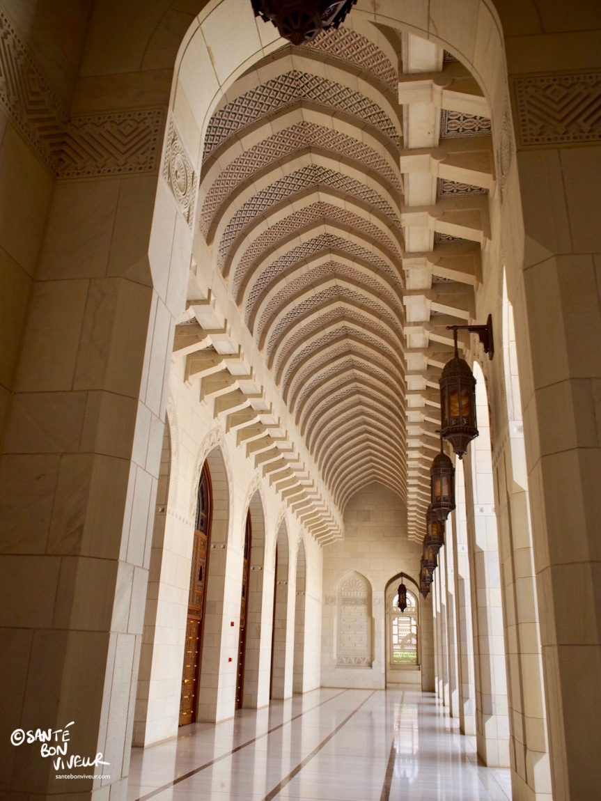 Travel In Pictures: 7 Must-sees in Muscat – 2. The Sultan Qaboos Grand Mosque