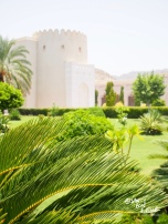 Government buildings in Old Muscat are stunning examples of contemporary Arabic architecture