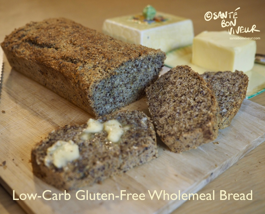 Low-Carb Swap Recipe: Gluten-Free Wholemeal Bread