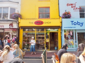 The Spice Shop at 10 Gardner Street is foodie spice heaven - there's also a branch off London's Portobello Road