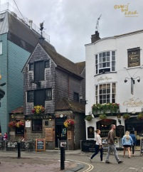 The Black Lion & The Cricketers - two of The Lanes's historic pubs