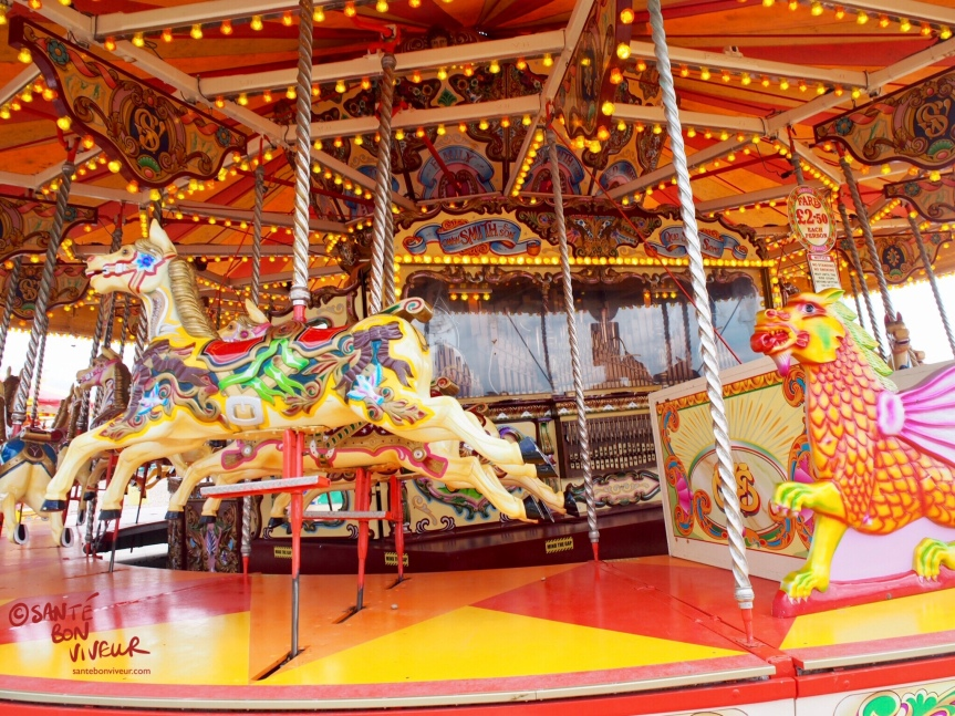 Carousel, Foot of Brighton Palace Pier, 2017