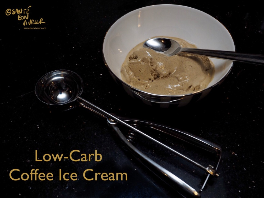 Low-Carb Swap Recipe: Coffee Ice Cream