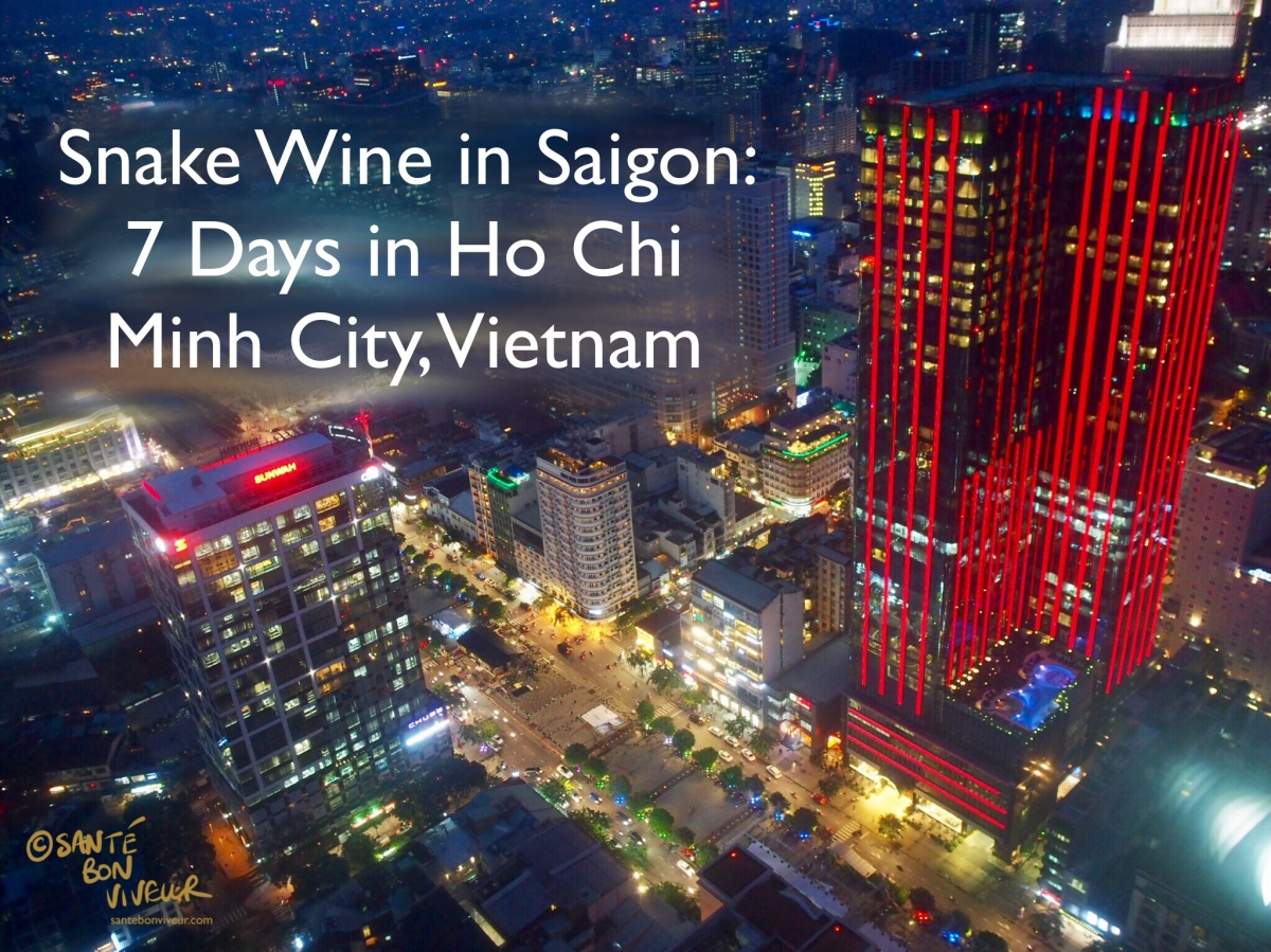 Snake Wine in Saigon: 7 Days in Ho Chi Minh City, Vietnam