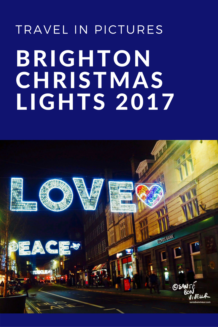 Travel in Pictures Christmas Special: Brighton Christmas Lights 2017