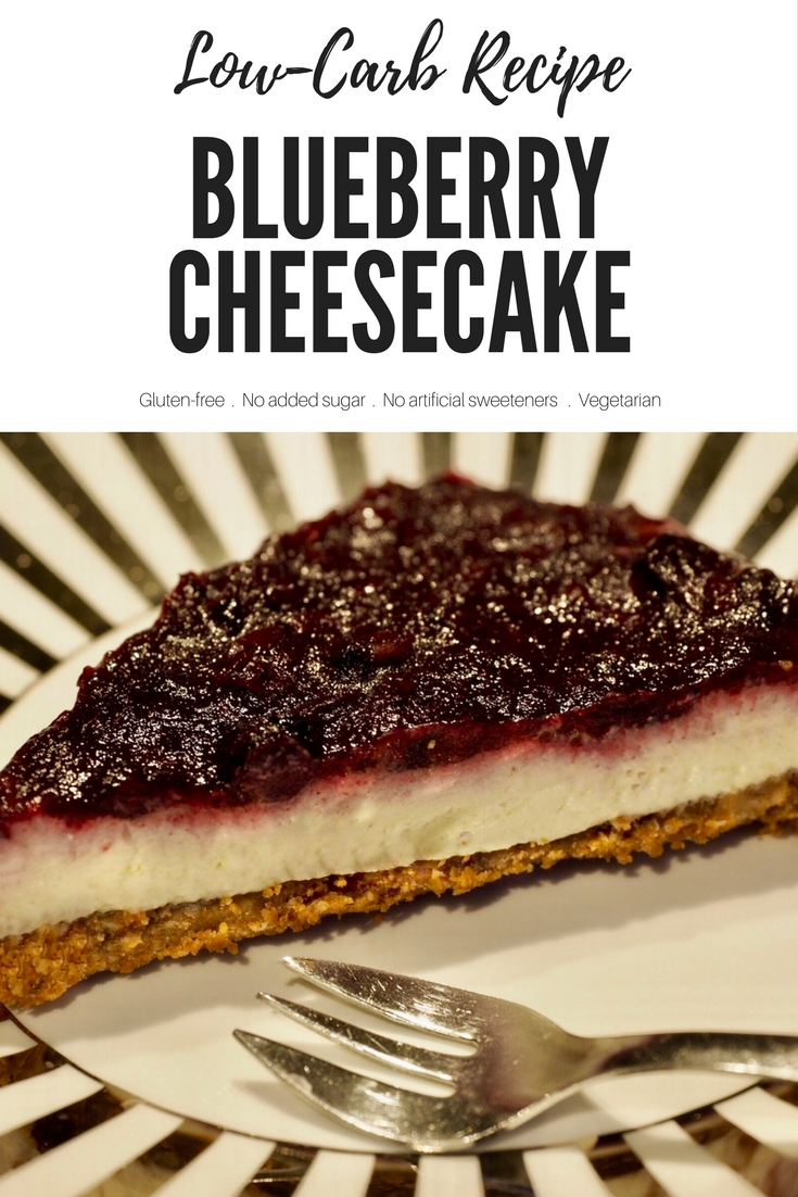 Low-Carb Recipe: Blueberry Cheesecake